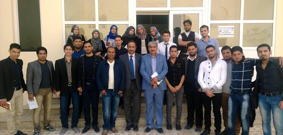 حفل توقيع رواية فرانكشتاين في بغداد
