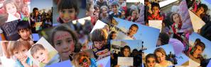 خليط صور العيد مع النازحين بعد احتلال الموصل