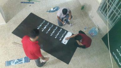 تحضير السبورات بمشاركة علي عماد عمار عدنان و احمد فتحي