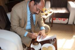 الدكتور باسم زوين المعاون العلمي لرئيس جامعة ابن حيان